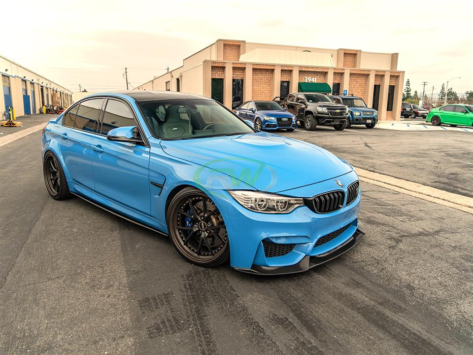 rw carbon fiber bmw f80 m3 cf side skirt extensions