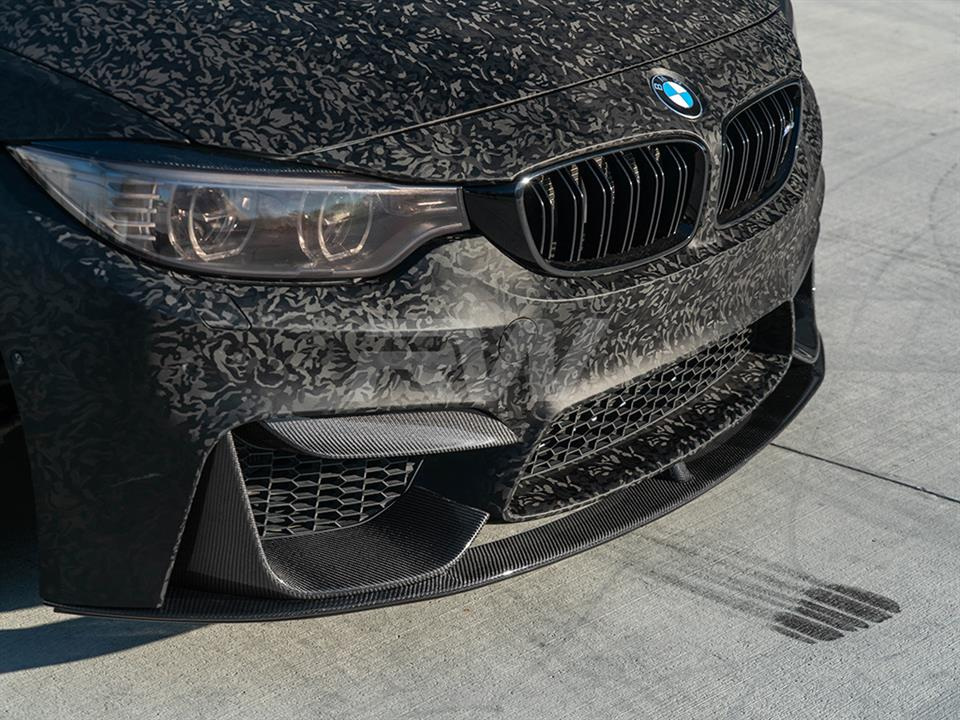 rw carbon fiber bmw f83 performance style carbon fiber front lip