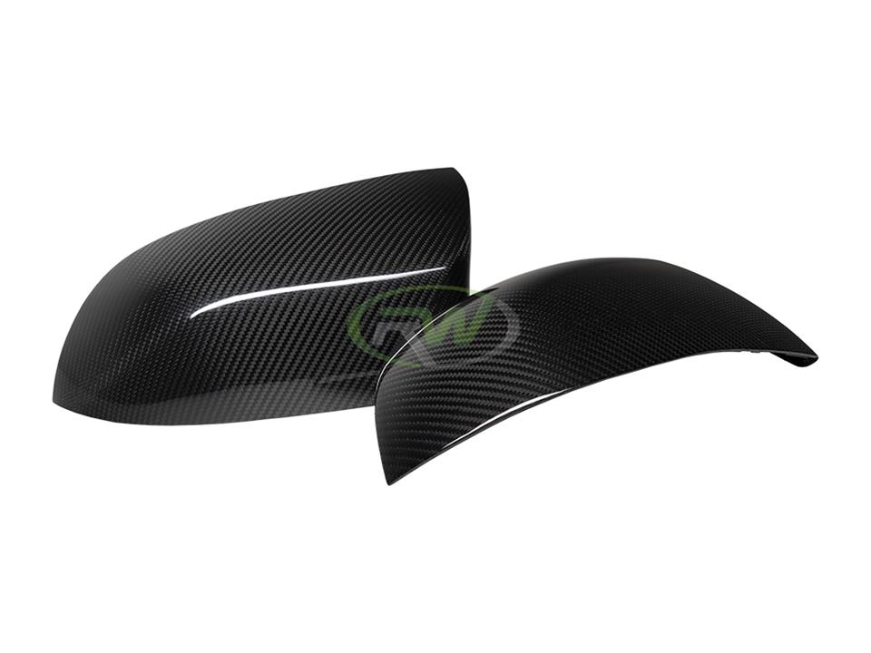 rw carbon fiber bmw f85 cf mirror cap replacements