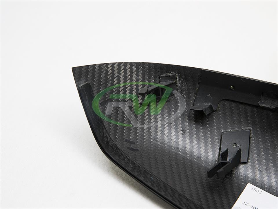 bmw f87 m2 coupe with rw carbon fiber new m styled cf mirror replacements