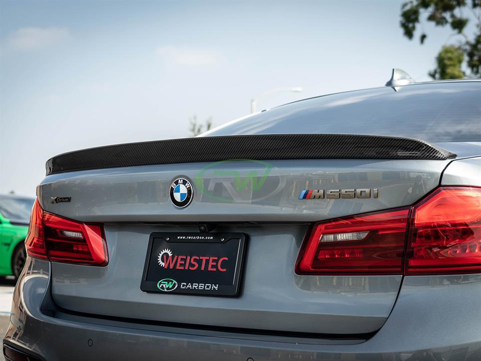 RW Carbon | BMW G30 5 Series & F90 M5 3D Style Carbon Fiber Trunk