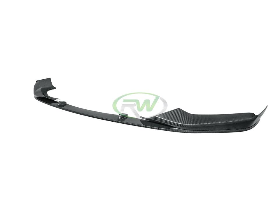 rw carbon fiber new bmw g30 528i 535i 540i 550i 5 series performance style cf front lip spoiler