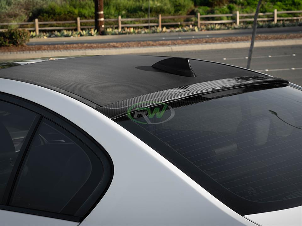 For BMW F11 5 series Carbon Fiber Roof Spoiler HPP Style