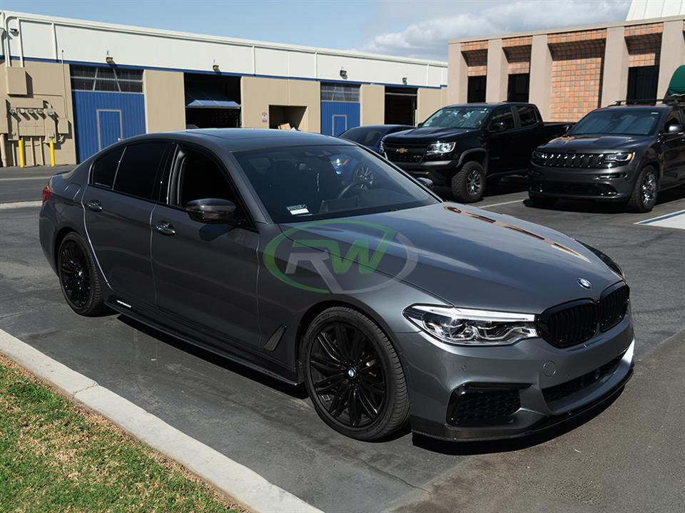 rw carbon fiber bmw g30 cf side vent cover