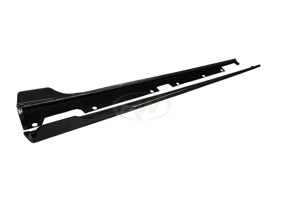 C190 GT/GT S CF Side Skirt Extensions