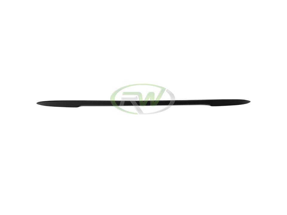 rw carbon fiber bmw e93 cf performance trunk spoiler