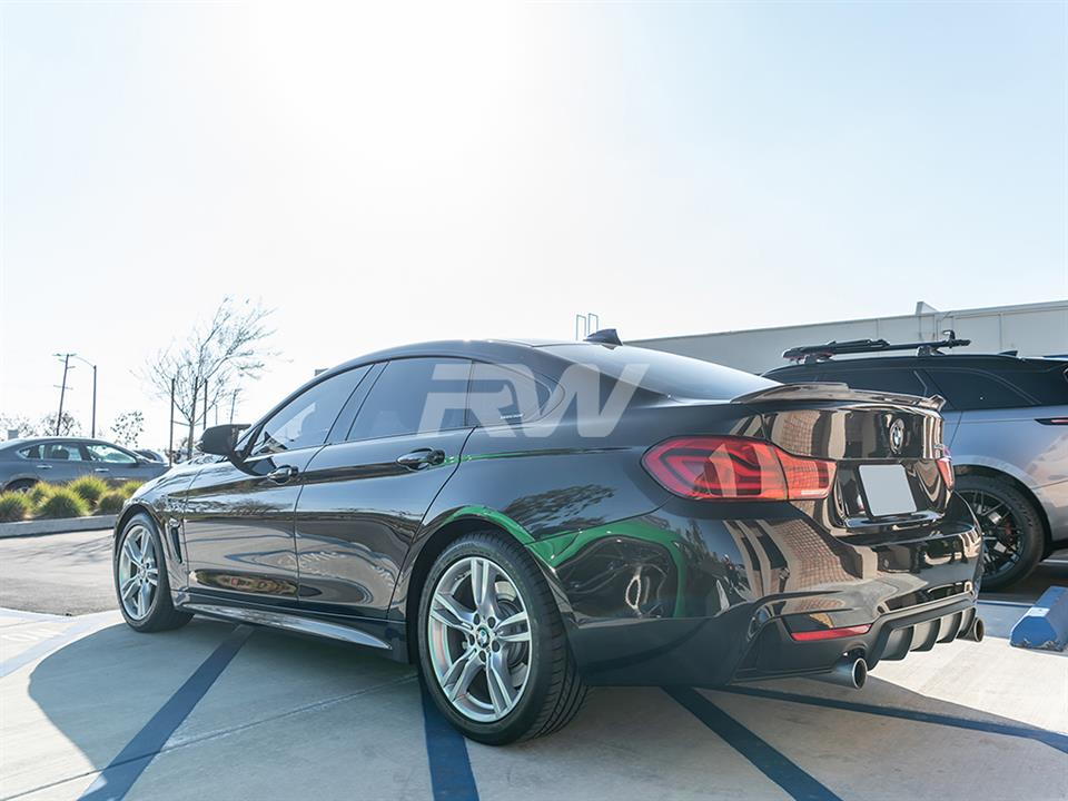 BMW F36 CS Style Carbon Fiber Trunk Spoiler