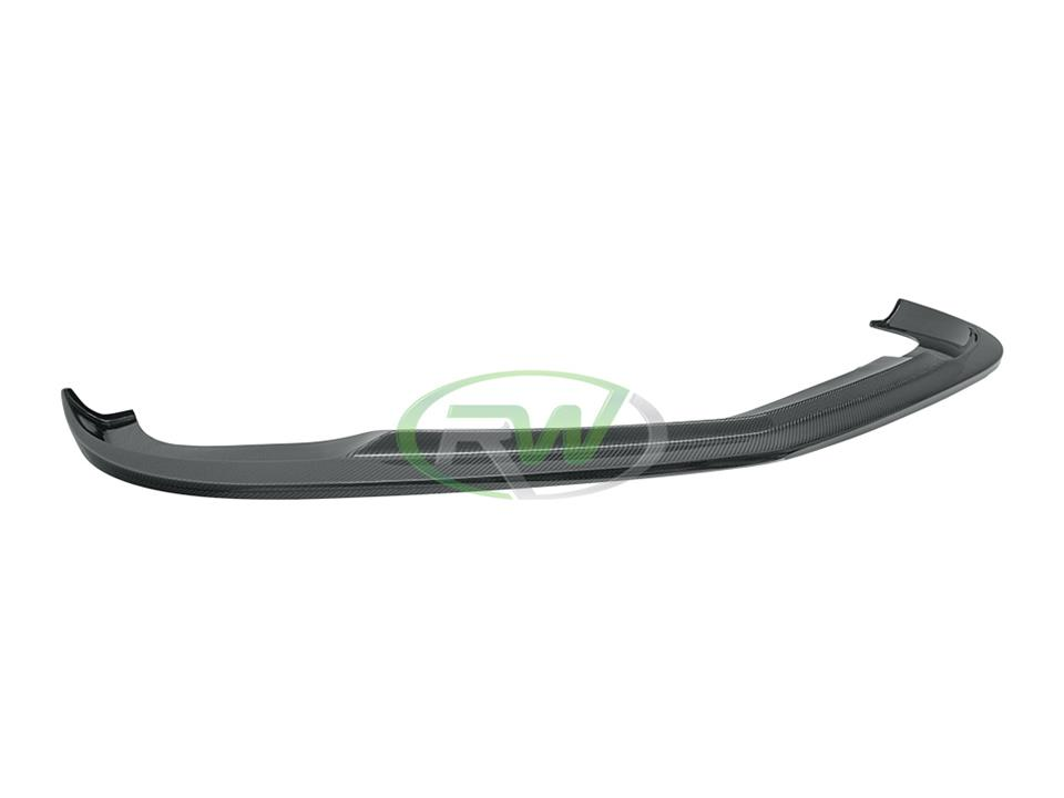 rw carbon fiber mercedes benz w204 c63 amg arkym style front lip spoiler