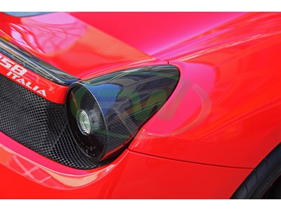 Ferrari 458 Carbon Fiber Tail Light Covers