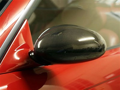 BMW E46 M3 Carbon Fiber Replacement Mirror Covers