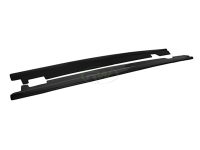 BMW E60 E61 Carbon Fiber Side Skirt Extensions