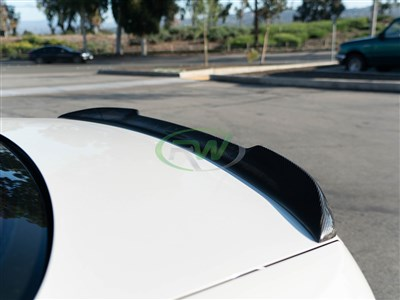 BMW E92 CS Style Carbon Fiber Trunk Spoiler