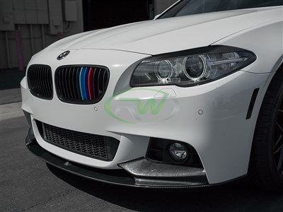 BMW F10 Performance Style CF Front Lip Spoiler