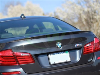 BMW F10 Perf Style Carbon Fiber Trunk Spoiler