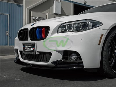 BMW F10 F11 Performance Style Front Lip Spoiler