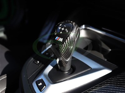 BMW Carbon Fiber Gear Selector Cover