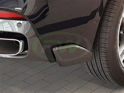 BMW F16 X6 M Sport Carbon Fiber Rear Splitters