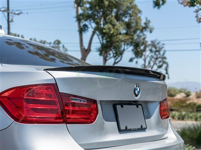 BMW F30 Performance Style Carbon Fiber Trunk Spoiler