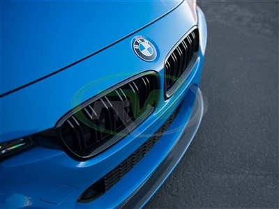 BMW F30/F31 Double Slat Gloss Black Grilles