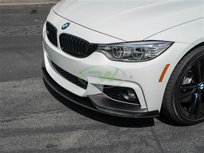 BMW F32/F33/F36 Performance Style CF Front Lip