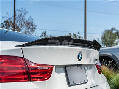BMW F32 GTX Style Forged Carbon Trunk Spoiler
