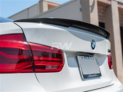 BMW F80 M3 Performance Style CF Trunk Spoiler