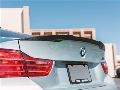BMW F82 M4 Performance Style CF Trunk Spoiler