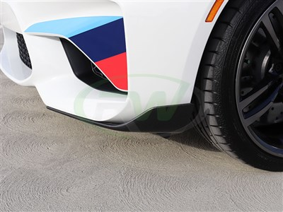 BMW F87 M2 Performance Style Front CF Splitters