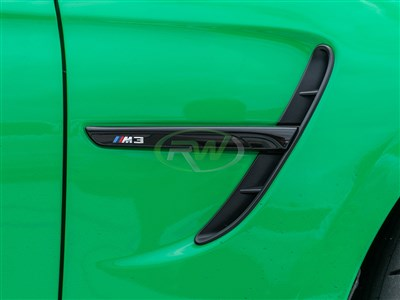 BMW F8X M3 & M4 Gloss Black Fender Trim