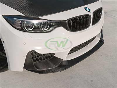 BMW F8X M3/M4 GTS Style CF Front Lip Spoiler
