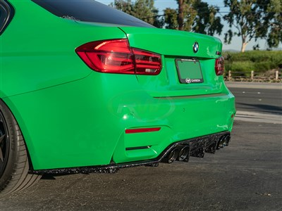 BMW F8x M3/M4 RWS Forged Carbon Diffuser