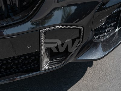 BMW G05 X5 Carbon Fiber Front Brake Duct Trim