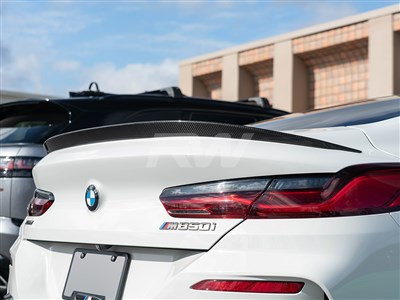 BMW G15 8-Series 3D Style CF Trunk Spoiler