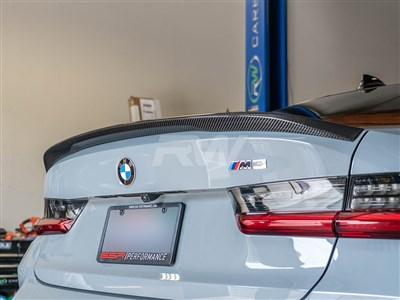 BMW G20 G80 Performance Style CF Trunk Spoiler