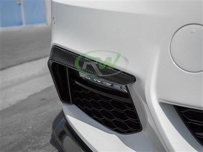BMW G30 Carbon Fiber Front Brake Duct Trim