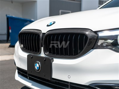 BMW G30 Carbon Fiber Grille Surrounds