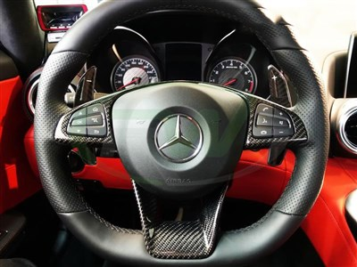 Mercedes Benz AMG Paddle Shifters
