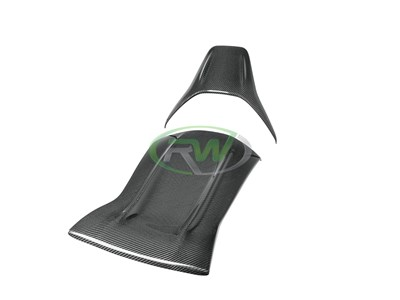 Mercedes W205 C63 Carbon Fiber Seat Backs
