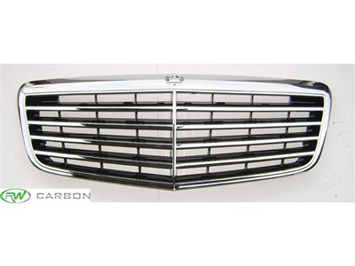 Mercedes W211 Chrome Grille