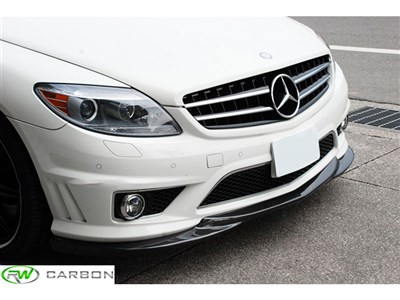 Mercedes W216 Godhand Style Carbon Fiber Lip