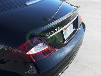 mercedes w219 cls carbon fiber trunk spoiler cls500 cls550. Black Bedroom Furniture Sets. Home Design Ideas