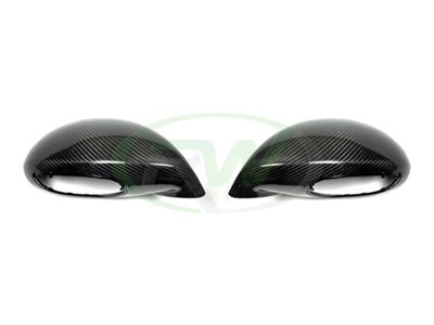 Porsche 991 Turbo GT3 GT4 Carbon Fiber Mirror Cover Replacements