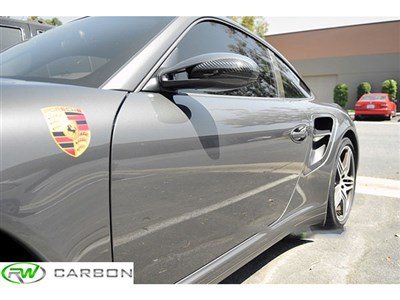 Porsche 997 Dry Carbon Fiber Mirror Covers