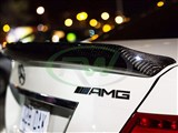Mercedes W204 Coupe DTM Style CF Trunk Spoiler - B Stock /