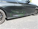 BMW F22 F23 Carbon Fiber Side Skirt Extensions - B Stock /