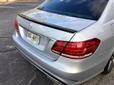 Mercedes W212 AMG Style Carbon Fiber Trunk Spoiler - B Stock /
