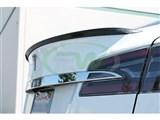 Tesla Model S Carbon Fiber Trunk Spoiler /