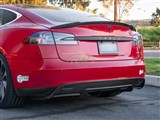 Tesla Model S Carbon Fiber Rear Diffuser /