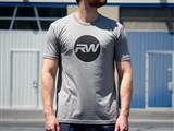 RW Circle Tee - Light Grey /