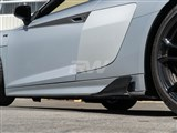 Audi R8 4S Carbon Fiber Side Skirt Winglets /